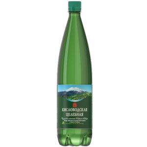 Бутылка ПЭТ 1 л. с винтовой пластиковой пробкой